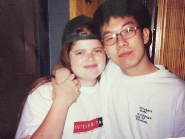 mais um querido amigo do dormitório... não vamos esquecer que todo mundo aqui era menor de 18