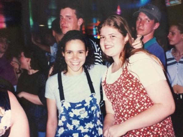festa da faculdade em River Falls